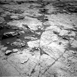 Nasa's Mars rover Curiosity acquired this image using its Left Navigation Camera on Sol 3156, at drive 826, site number 89