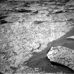 Nasa's Mars rover Curiosity acquired this image using its Left Navigation Camera on Sol 3156, at drive 928, site number 89