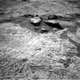Nasa's Mars rover Curiosity acquired this image using its Left Navigation Camera on Sol 3156, at drive 970, site number 89
