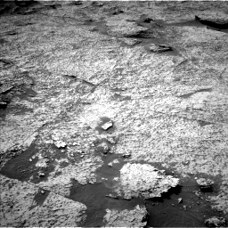 Nasa's Mars rover Curiosity acquired this image using its Left Navigation Camera on Sol 3156, at drive 1024, site number 89