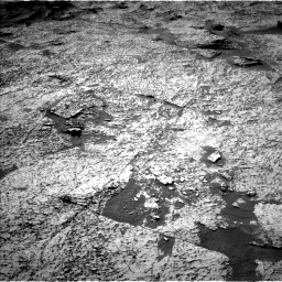 Nasa's Mars rover Curiosity acquired this image using its Left Navigation Camera on Sol 3156, at drive 1030, site number 89
