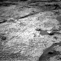 Nasa's Mars rover Curiosity acquired this image using its Left Navigation Camera on Sol 3156, at drive 1072, site number 89