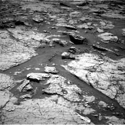 Nasa's Mars rover Curiosity acquired this image using its Right Navigation Camera on Sol 3156, at drive 736, site number 89