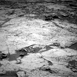 Nasa's Mars rover Curiosity acquired this image using its Right Navigation Camera on Sol 3156, at drive 754, site number 89