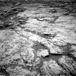 Nasa's Mars rover Curiosity acquired this image using its Right Navigation Camera on Sol 3156, at drive 772, site number 89