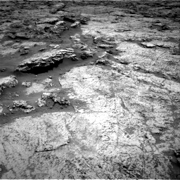 Nasa's Mars rover Curiosity acquired this image using its Right Navigation Camera on Sol 3156, at drive 784, site number 89