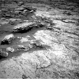 Nasa's Mars rover Curiosity acquired this image using its Right Navigation Camera on Sol 3156, at drive 790, site number 89