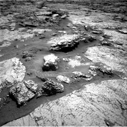 Nasa's Mars rover Curiosity acquired this image using its Right Navigation Camera on Sol 3156, at drive 796, site number 89