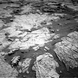 Nasa's Mars rover Curiosity acquired this image using its Right Navigation Camera on Sol 3156, at drive 814, site number 89