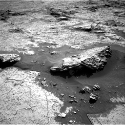 Nasa's Mars rover Curiosity acquired this image using its Right Navigation Camera on Sol 3156, at drive 856, site number 89