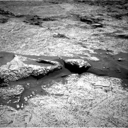 Nasa's Mars rover Curiosity acquired this image using its Right Navigation Camera on Sol 3156, at drive 868, site number 89