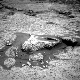 Nasa's Mars rover Curiosity acquired this image using its Right Navigation Camera on Sol 3156, at drive 874, site number 89