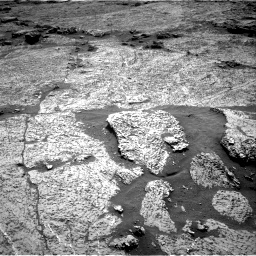 Nasa's Mars rover Curiosity acquired this image using its Right Navigation Camera on Sol 3156, at drive 886, site number 89