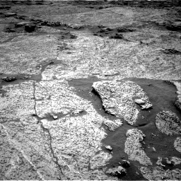 Nasa's Mars rover Curiosity acquired this image using its Right Navigation Camera on Sol 3156, at drive 892, site number 89