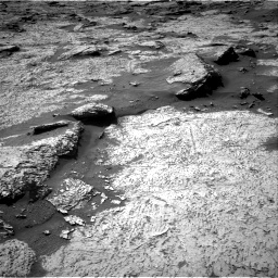 Nasa's Mars rover Curiosity acquired this image using its Right Navigation Camera on Sol 3156, at drive 910, site number 89