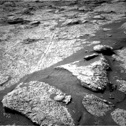 Nasa's Mars rover Curiosity acquired this image using its Right Navigation Camera on Sol 3156, at drive 922, site number 89