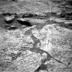 Nasa's Mars rover Curiosity acquired this image using its Right Navigation Camera on Sol 3156, at drive 964, site number 89