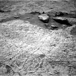 Nasa's Mars rover Curiosity acquired this image using its Right Navigation Camera on Sol 3156, at drive 976, site number 89