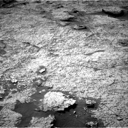 Nasa's Mars rover Curiosity acquired this image using its Right Navigation Camera on Sol 3156, at drive 1024, site number 89