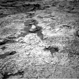 Nasa's Mars rover Curiosity acquired this image using its Right Navigation Camera on Sol 3156, at drive 1054, site number 89