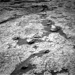 Nasa's Mars rover Curiosity acquired this image using its Right Navigation Camera on Sol 3156, at drive 1060, site number 89