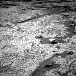 Nasa's Mars rover Curiosity acquired this image using its Right Navigation Camera on Sol 3156, at drive 1072, site number 89