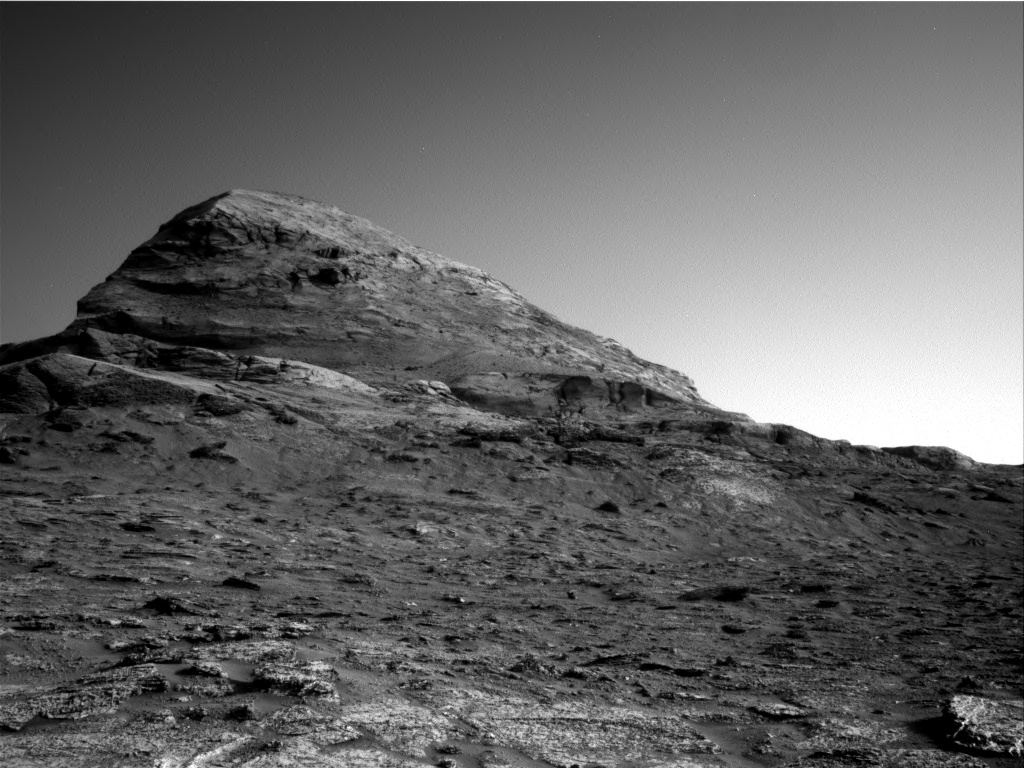Nasa's Mars rover Curiosity acquired this image using its Right Navigation Camera on Sol 3156, at drive 1082, site number 89