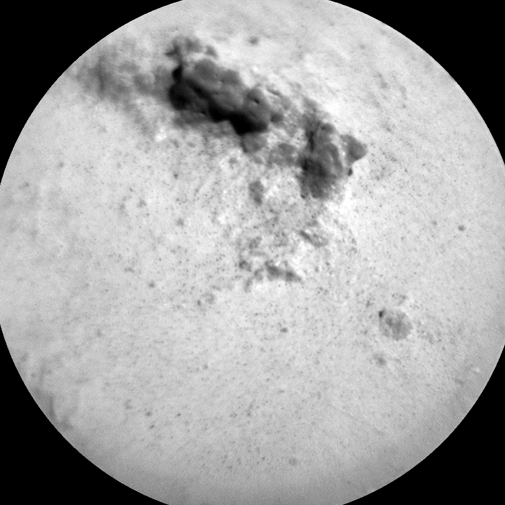 Nasa's Mars rover Curiosity acquired this image using its Chemistry & Camera (ChemCam) on Sol 3156, at drive 724, site number 89
