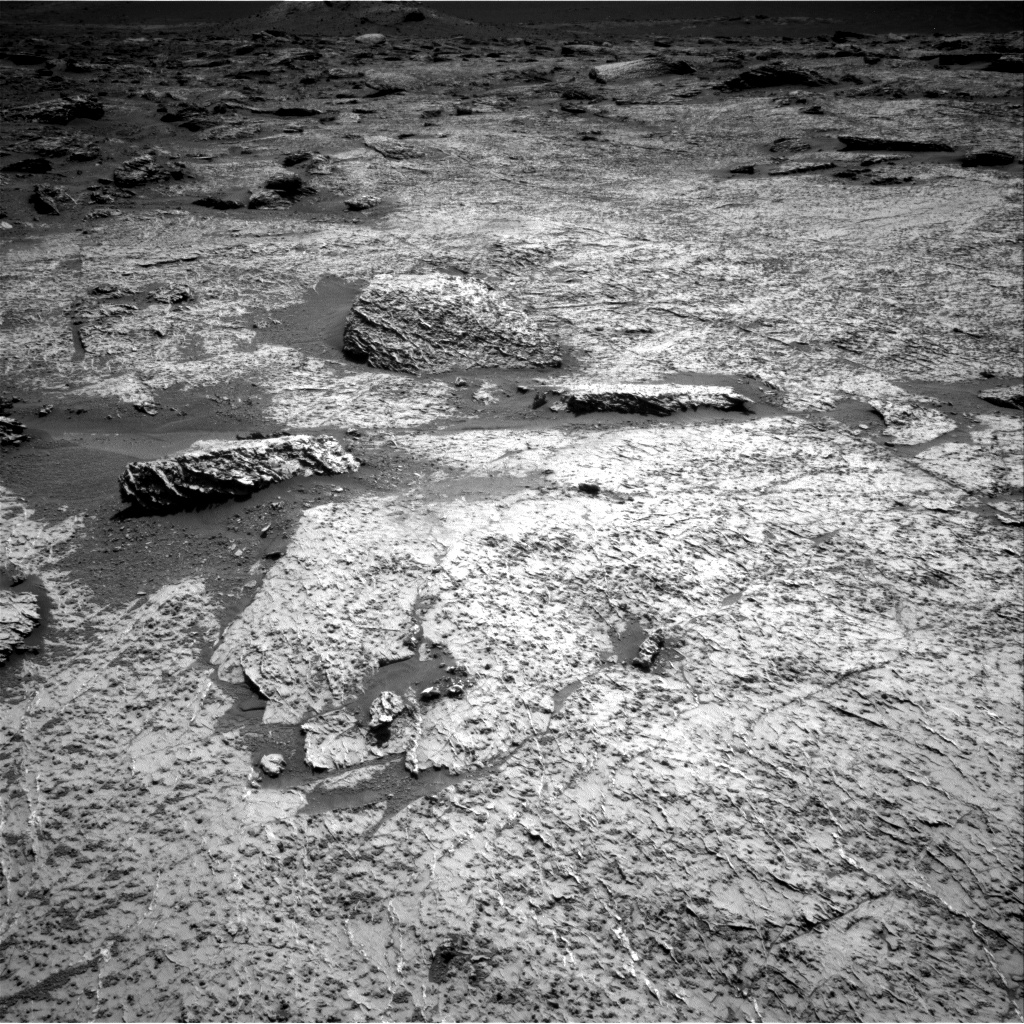 Nasa's Mars rover Curiosity acquired this image using its Right Navigation Camera on Sol 3157, at drive 1082, site number 89