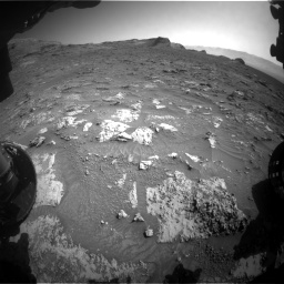 Nasa's Mars rover Curiosity acquired this image using its Front Hazard Avoidance Camera (Front Hazcam) on Sol 3158, at drive 1346, site number 89