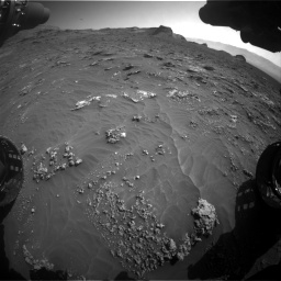 Nasa's Mars rover Curiosity acquired this image using its Front Hazard Avoidance Camera (Front Hazcam) on Sol 3158, at drive 1406, site number 89