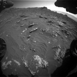 Nasa's Mars rover Curiosity acquired this image using its Front Hazard Avoidance Camera (Front Hazcam) on Sol 3158, at drive 1418, site number 89