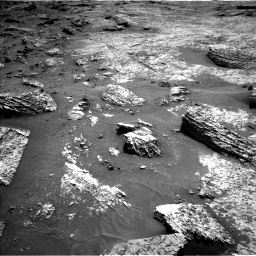 Nasa's Mars rover Curiosity acquired this image using its Left Navigation Camera on Sol 3158, at drive 1112, site number 89