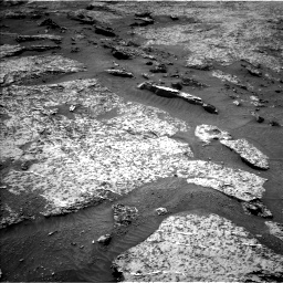 Nasa's Mars rover Curiosity acquired this image using its Left Navigation Camera on Sol 3158, at drive 1178, site number 89