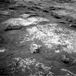 Nasa's Mars rover Curiosity acquired this image using its Left Navigation Camera on Sol 3158, at drive 1196, site number 89