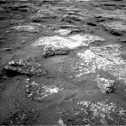 Nasa's Mars rover Curiosity acquired this image using its Left Navigation Camera on Sol 3158, at drive 1202, site number 89