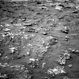 Nasa's Mars rover Curiosity acquired this image using its Left Navigation Camera on Sol 3158, at drive 1250, site number 89
