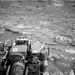 Nasa's Mars rover Curiosity acquired this image using its Left Navigation Camera on Sol 3158, at drive 1322, site number 89