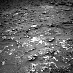 Nasa's Mars rover Curiosity acquired this image using its Left Navigation Camera on Sol 3158, at drive 1334, site number 89