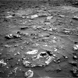 Nasa's Mars rover Curiosity acquired this image using its Left Navigation Camera on Sol 3158, at drive 1358, site number 89
