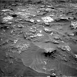 Nasa's Mars rover Curiosity acquired this image using its Left Navigation Camera on Sol 3158, at drive 1388, site number 89