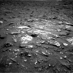 Nasa's Mars rover Curiosity acquired this image using its Left Navigation Camera on Sol 3158, at drive 1406, site number 89
