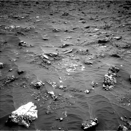 Nasa's Mars rover Curiosity acquired this image using its Left Navigation Camera on Sol 3158, at drive 1448, site number 89