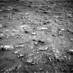 Nasa's Mars rover Curiosity acquired this image using its Left Navigation Camera on Sol 3158, at drive 1454, site number 89