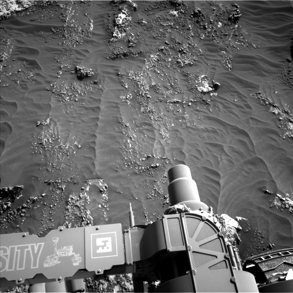Nasa's Mars rover Curiosity acquired this image using its Left Navigation Camera on Sol 3158, at drive 1466, site number 89