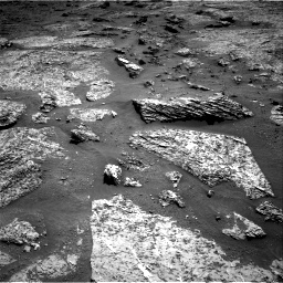 Nasa's Mars rover Curiosity acquired this image using its Right Navigation Camera on Sol 3158, at drive 1130, site number 89