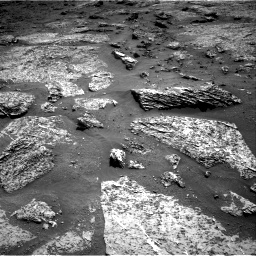 Nasa's Mars rover Curiosity acquired this image using its Right Navigation Camera on Sol 3158, at drive 1136, site number 89