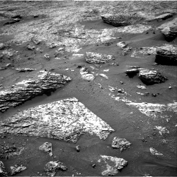 Nasa's Mars rover Curiosity acquired this image using its Right Navigation Camera on Sol 3158, at drive 1154, site number 89