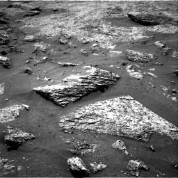 Nasa's Mars rover Curiosity acquired this image using its Right Navigation Camera on Sol 3158, at drive 1160, site number 89