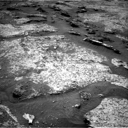 Nasa's Mars rover Curiosity acquired this image using its Right Navigation Camera on Sol 3158, at drive 1184, site number 89